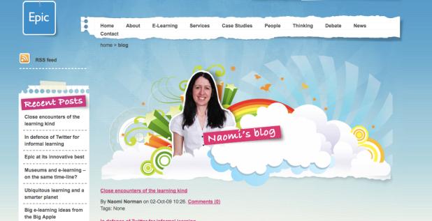 Naomi's blog